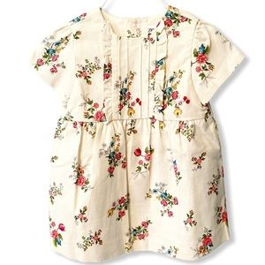 Zara Baby | Ruffled Floral Dress (18-24 mos) 🌺